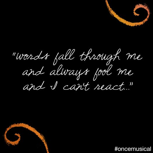 Falling Slowly lyrics - Once the Muscial