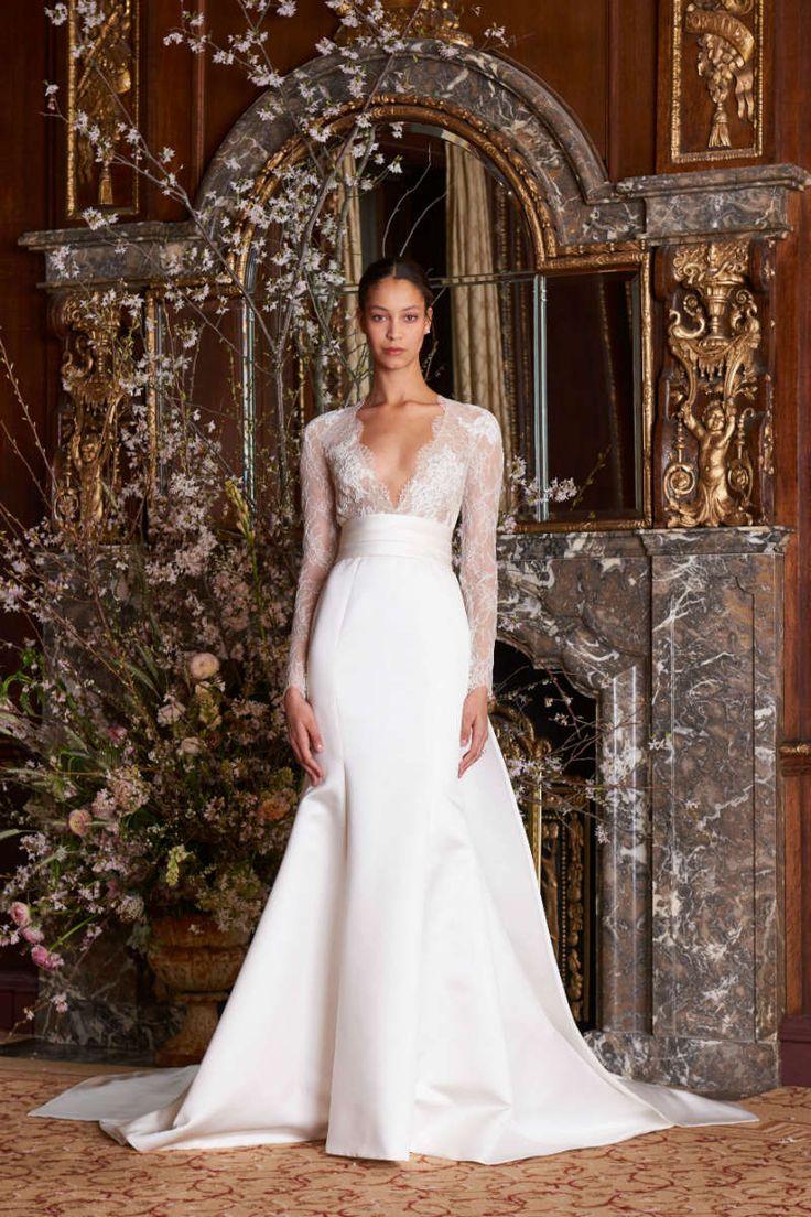 Monique Lhuillier Spring 2019 Wedding Dresses | ElegantWedding.ca – Elegant Wedding Magazine, Wedding Inspiration