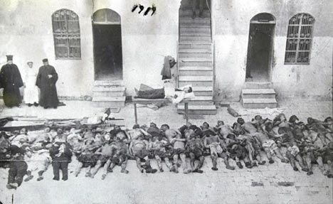 """armenian massacreIn November 1914, the Ottoman Empire entered World War I against the Allies and launched a disastrous military campaign against Russian forces in the Caucasus. It blamed defeat on the Armenians, claiming they had colluded with the Russians.  A prominent Turkish writer at the time described the war as """"the awaited day"""" when the Turks would exact """"revenge, the horrors of which have not yet been recorded in history""""."""