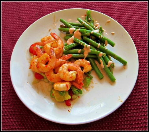 Spicy Shrimp And Green Apple Salad Recipe — Dishmaps