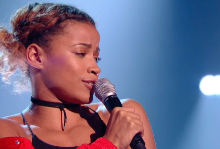 Olympic long jumper Jazmin Sawyers auditions on The Voice