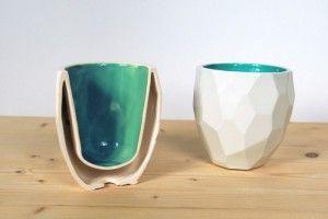 Чашка-многогранник для эспрессо