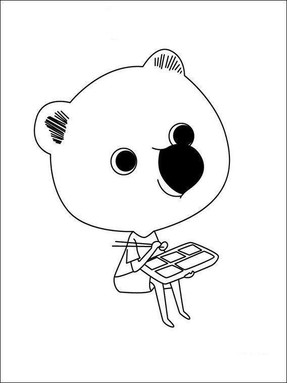 Mouk 2 Ausmalbilder Fur Kinder Malvorlagen Zum Ausdrucken Und