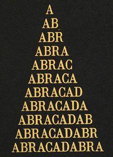 Abracadabra: significato, usi e storia del simbolo esoterico