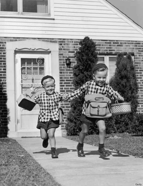 The Evolution Of The Backpack: School Bags Have Changed, Adorable Children Have Not