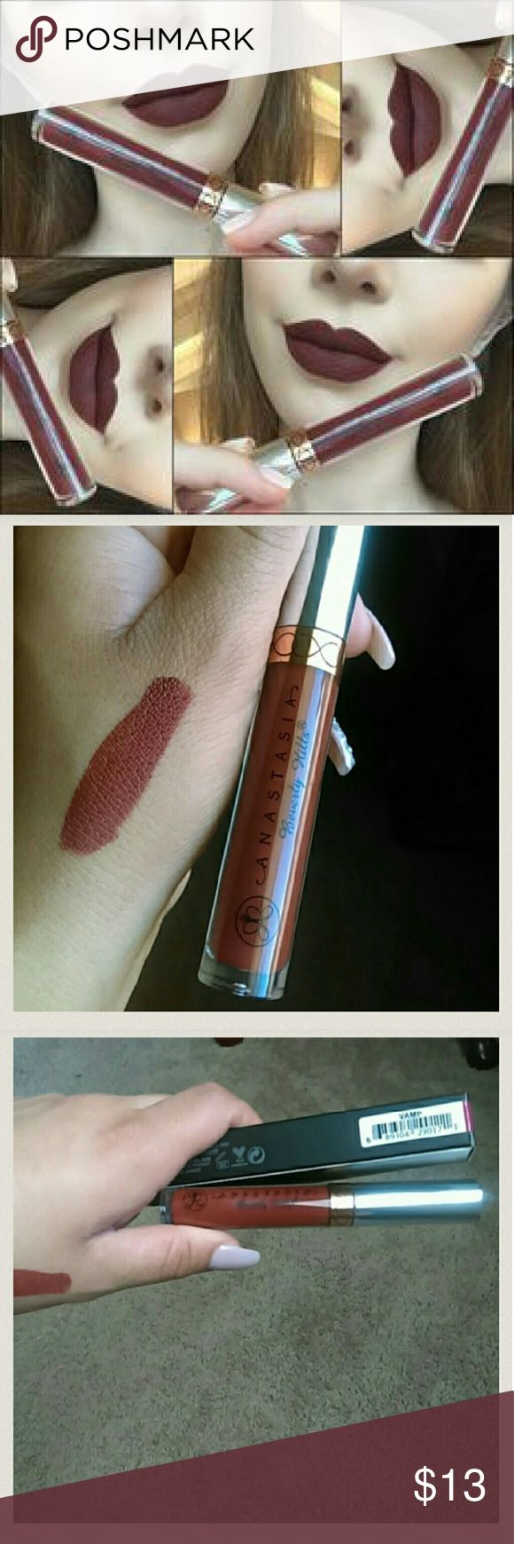 Anastasia Vamp Brand new in box Vamp got from third party authenticity unknown $13 firm Makeup Lipstick