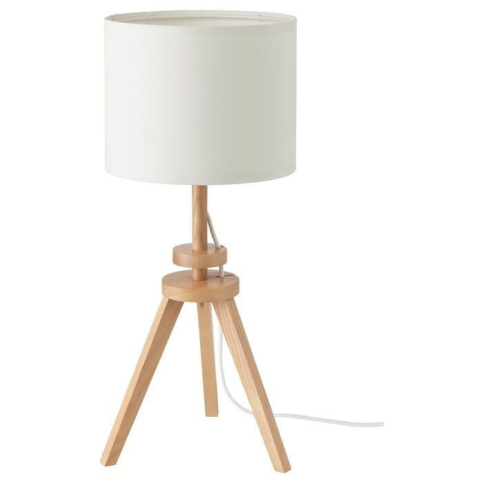 Lauters Table Lamp With Led Bulb Ash White Ikea Lamp Ikea Table Lamp Ikea Floor Lamp
