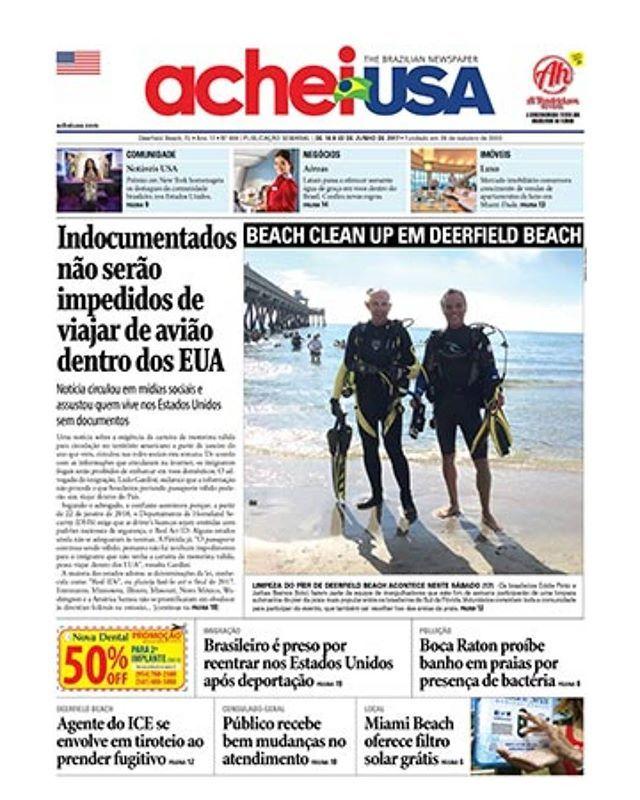 """""""SEXTA-FEIRA É DIA DE ACHEIUSA NEWSPAPER, o maior e melhor👍 #jornal em português 🇧🇷 da Flórida! 📰 Pegue o seu gratuitamente nos pontos de distribuição do Sul da Flórida ⛱ e Orlando 🎡 e fique bem informado 😉 📰 Divulgue sua empresa no AcheiUSA 🔝 e faça bons negócios💲com os mais de 300 mil brasileiros 🇧🇷 na Flórida. Para anunciar ligue ☎ 954-570-7568 ou envie um e-mail para ⌨ contato@acheiusa.com.  #AcheiUSA: O #PontodeEncontro dos #BrasileirosnaAmerica! Acesse já www.acheiusa.com…"""
