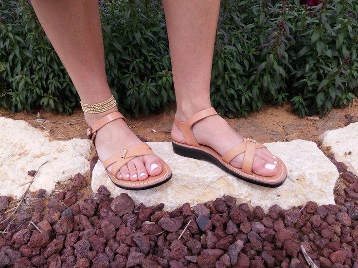 Leather Sandals, Leather Sandals Women, Sandals, Women's Shoes, ARIELA, Flip Flops, Biblical Sandals, Jesus Sandals, Jerusalem Sandals by Sandalimshop on Etsy