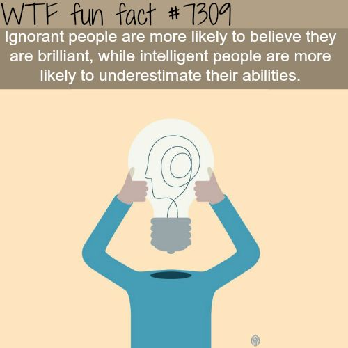 Ignorant people - WTF fun fact