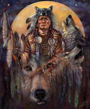 Invoking the Wolf Spirit by Gloria West