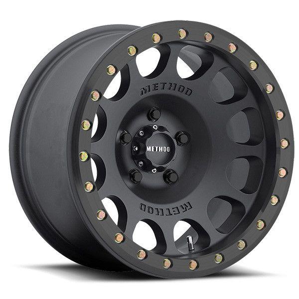 Matte Black Beadlock Off-road Jeep Wheel | Method Race Wheels