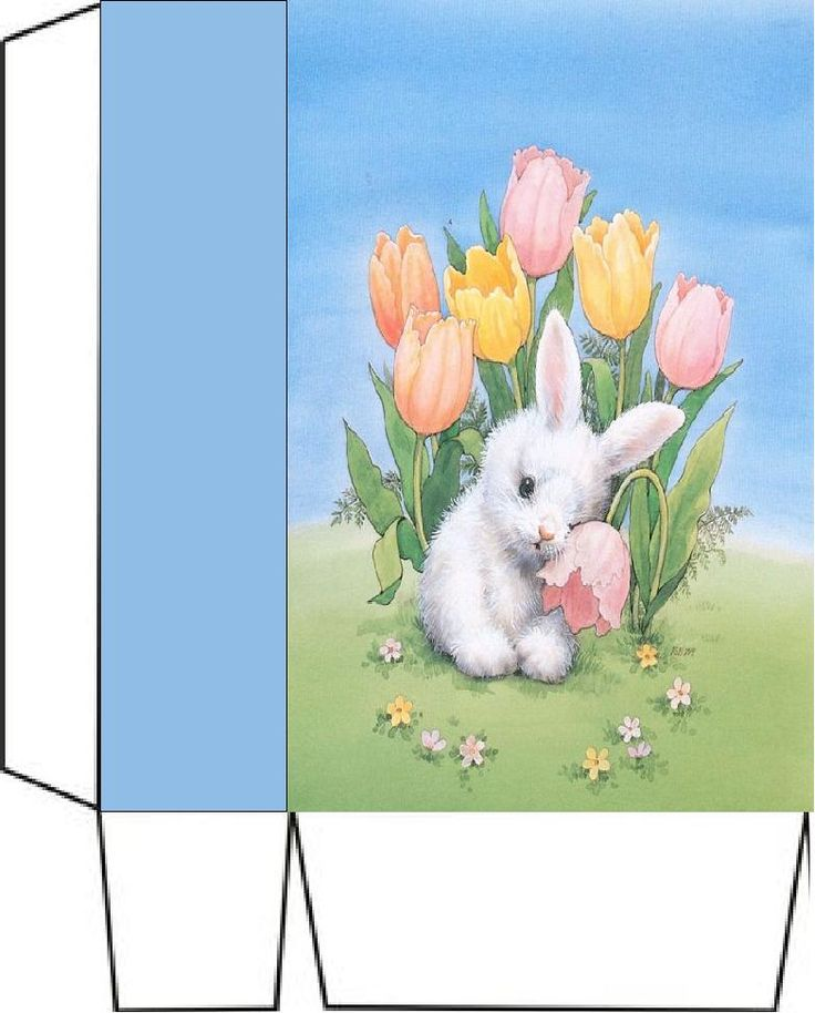 4292 best boxes and bags images on pinterest paper boxes boxes bunny with wilting flower x2 bag negle Images