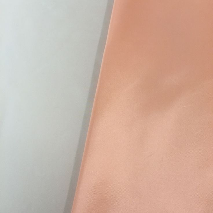 Duchess Satin - soft peach colour - great for Mother of the Bride or Groom