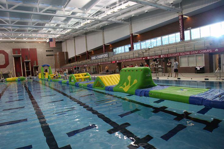 WIPE OUT! Ohio State University Hosted This Welcome Week Event On Their  Aquatic Obstacle Course