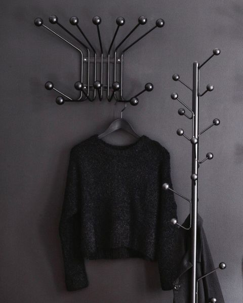 Our hangers and hooks in the Bill series in black!