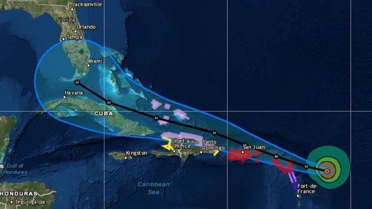 Category 5 Hurricane Irma Brings 180-MPH Winds to Bear on Caribbean Islands