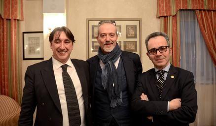 Vito Potenza Kalc candidato sindaco per il Territorio Libero di Trieste, Massimo Martire giornalista, Giuseppe Paccione esperto di diritto internazionale,