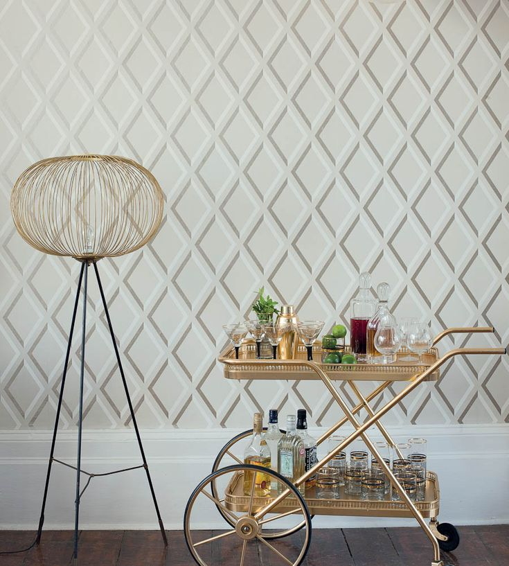 Trellis Wallpaper For Walls: 17 Best Images About Trend