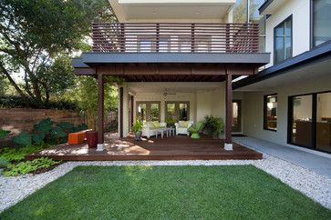 Laurel Road:  Evergreen Consulting and E2 Homes modern deck