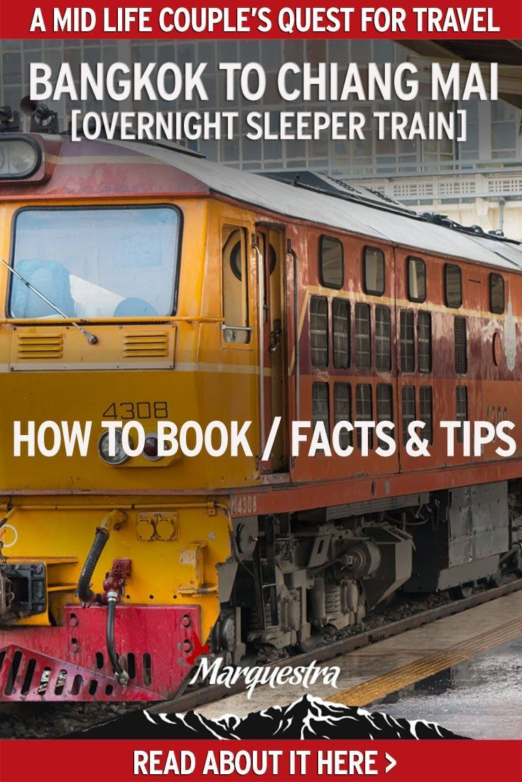 Get information from our Bangkok to Chiang Mai train experience. How to book, facts and tips on this great overnight travel from Bangkok to Chiang Mai. #overnighttrainbrangkoktochiangmai #travelfrombangkoktochiangmai #nighttrainbangkoktochiangmai