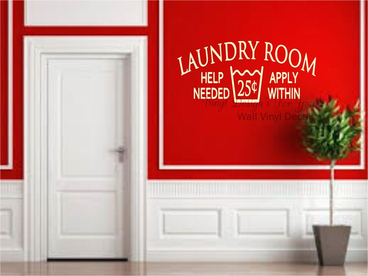 Laundry room help wanted apply within