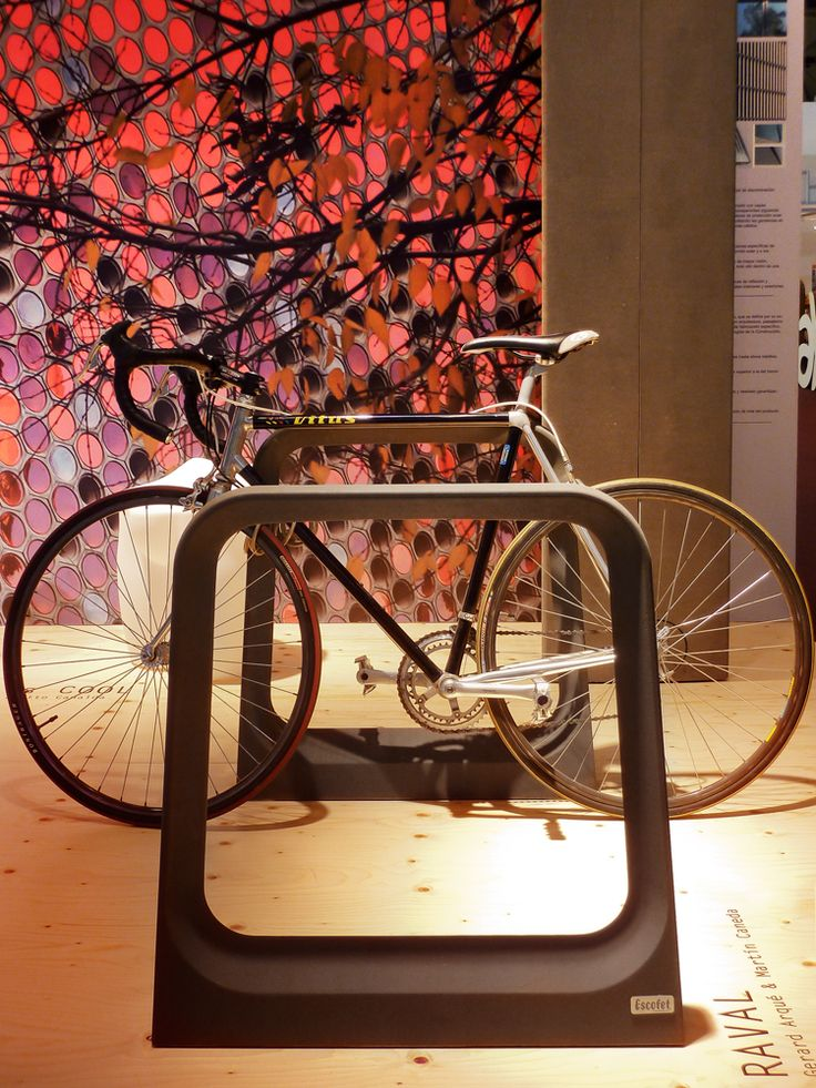 RAVAL Bike rack in Slimconcrete