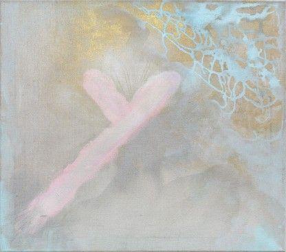 ArtBanana.com | Veronika Drahotová: Síto paměti 21 | akryl na plátně | 60 x 50 cm