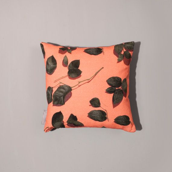 30x30cm 'Leaves' Cushion by SCastilloLifestyle on Etsy