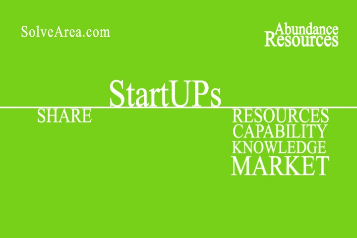 StartUps Access the Abundance Resources through Collaboration on SolveArea.com