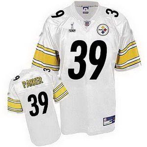 e00e86b281b ... Black NFL Jersey79.99 Pittsburgh Steelers 39 Willie Parker White Super  Bowl XLV Jersey Reebok ...