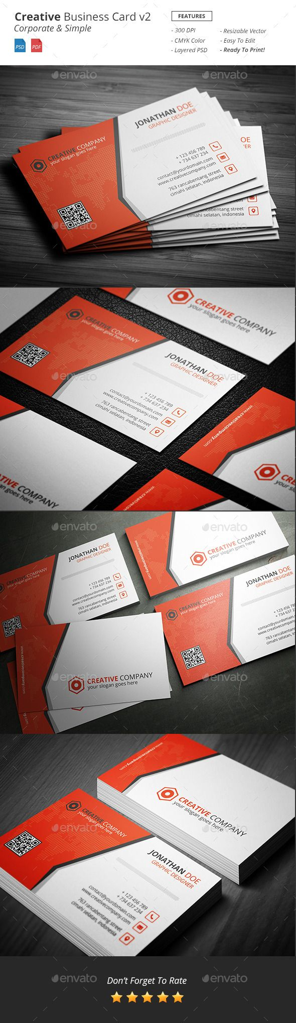 Creative - Bussiness Card v2 - Creative Business Cards Download here : http://graphicriver.net/item/creative-bussiness-card-v2/12525241?s_rank=1782&ref=Al-fatih