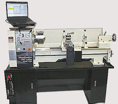 New Micro Kinetics CNC Lathe 12x36 Turning Machine
