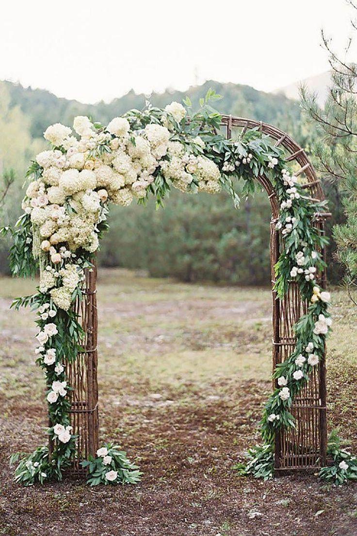 Cool 97 Floral Wedding Arch Decoration Ideas https://weddmagz.com/97-floral-wedding-arch-decoration-ideas/