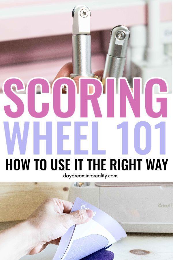 How To Use The Cricut Scoring Wheel Scoring Wheel Not Detected Cricut Tutorials Cricut Projects Vinyl Cricut Craft Room
