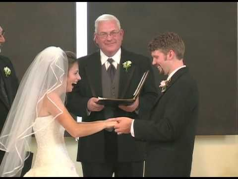 Waflly wedded wife.  The brides laugh is hysterical