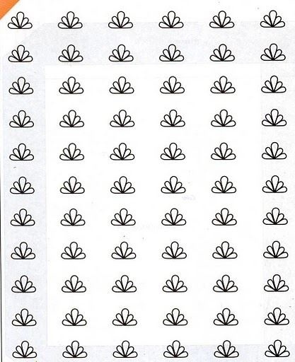 Template for making royal icing transfers.  Resize your favorite way (I paste into Word and format the picture).