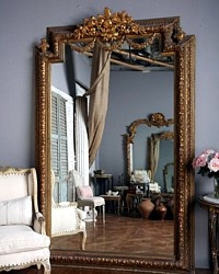 awesome...: Big Mirror, Mirror Mirror, Gold Mirror, Four-Post, Large Mirror, Floors Mirror, Mirrormirror, Pier Mirror, Gold French Wall Mirror Decor