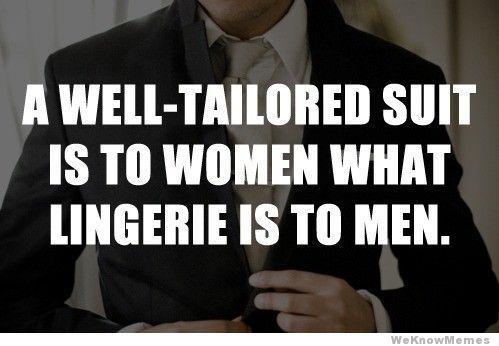 Gentlemen, suit up!