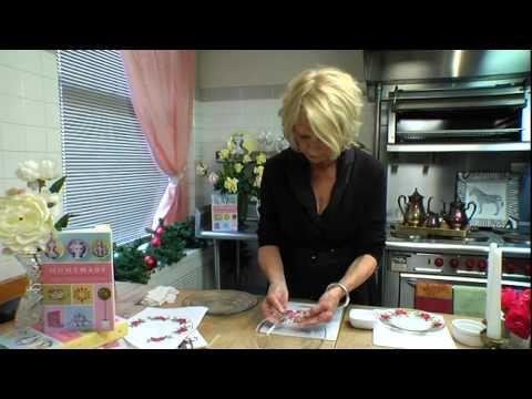 How to Make Decoupage Plates Video    5min com