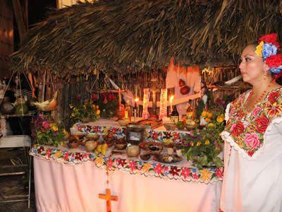 Altar del Hanal Pixan