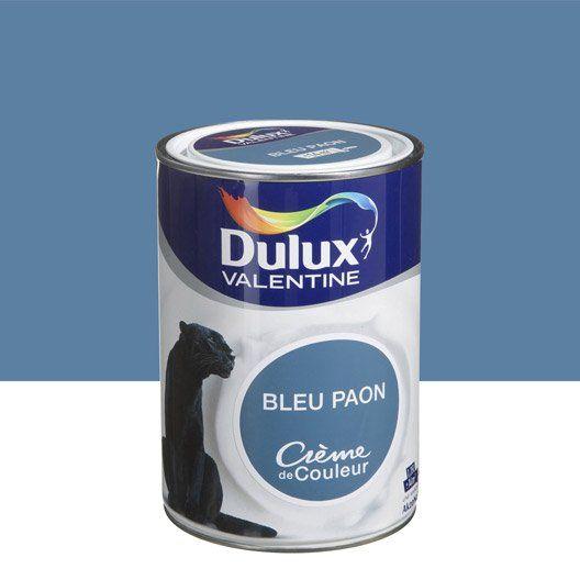 peinture_multisupports_creme_de_couleur_dulux_valentine__bleu_paon__1_25_l | Dulux valentine ...