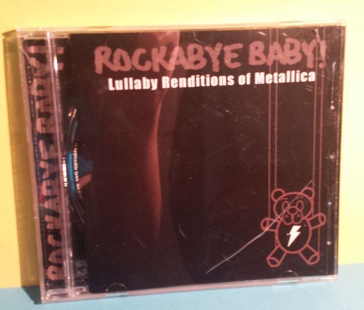 Rockabye Baby Lullaby Renditions of METALLICA ~ CD TIMELESS ROCK Instrumental #LullabyInstrumental