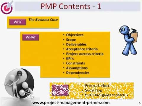 The Project Management Plan - Part 1