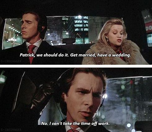 American Psycho 60 Screencaps With Subtitles Pinterest Awesome American Psycho Quotes