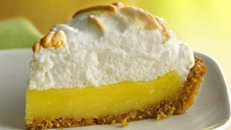 Looking for a classic dessert? Then check out this sweet and citrusy pie made with Rice Chex® cereal.