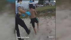 WATCH:  Police officer rescues boy trapped beneath boat dock Bodycam footage shows two police officers risking their lives to free a child trapped beneath a boat dock in Florida.  ------------------------------ #news #buzzvero #events #lastminute #reuters #cnn #abcnews #bbc #foxnews #localnews #nationalnews #worldnews #новости #newspaper #noticias