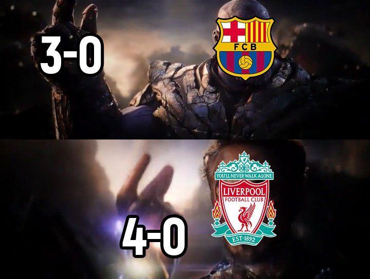 Memes De La Derrota De Barcelona Ante Liverpool Liverpool Club De Futbol Liverpool Fotos De Futbol