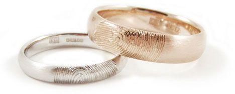bride.ca | Fingerprint Wedding Bands