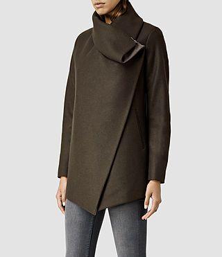 Women's Jax Jacket (Khaki) - product_image_alt_text_2